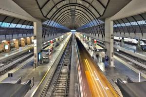 Interior de la Estación Santa Justa en la actualidad (fotografía Felipe Rodríguez)
