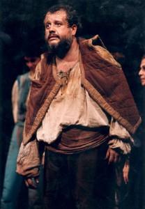 Juan Echanove durante el preestreno de Don Quijote en Nueva York.