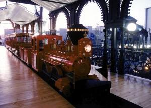 Tren del Parque Recreativo realizado por Martín Actracciones.