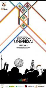 El cartel de la Exposición, diseñado por David Barco.