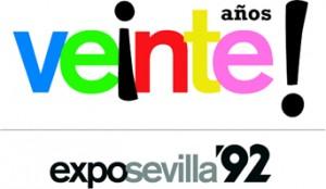 Logo oficial de Legado Expo para el Vigésimo Aniversario de Expo'92