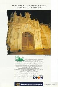 Banco Hispano Americano, patrocinador oficial de Expo 92.