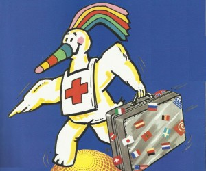 Curro fue participante activo del Pabellón de la Cruz Roja (Legado Expo).