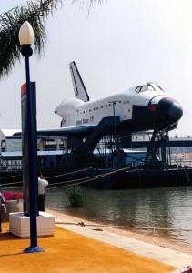 Transbordador Discovery en la Isla de la Cartuja (Fotografía Sabino el Viajero).