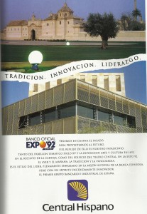 Central Hispano Banco Oficial de la Expo 92.