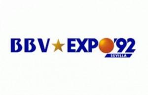 Banco Bilbao Vizcaya patrocinador oficial de Expo 92.