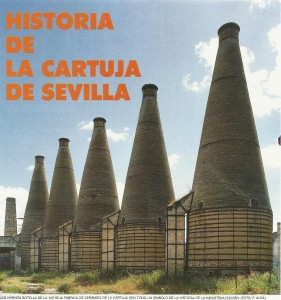 Hornos con forma de botella de la antigua fábrica de cerámica de la Cartuja, simbolo de la historia del recinto de la Exposición Universal de Sevilla.