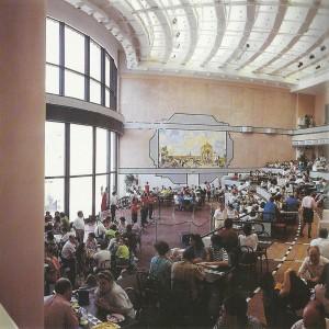 Interior del Pabellón de Cruzcampo.