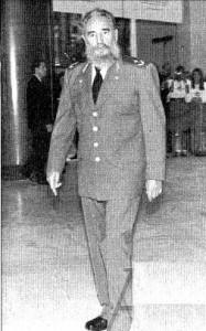Fidel Castro fue de los mandatarios que no fue acompañado por ningún otro jefe de Gobierno en el recorrido por el Pabellón Plaza América.