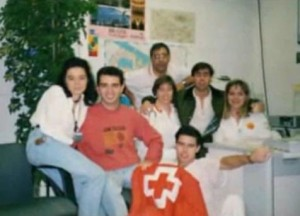 Profesionales Sanitarios durante la Expo'92