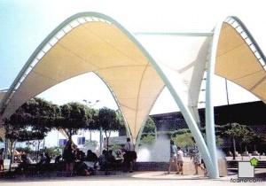 Umbráculos de Puerta Triana.