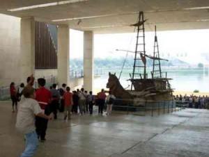 Pabellón de la Navegación en 2002.