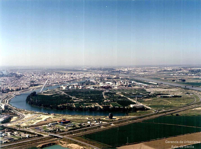Se inicia las obras del estadio de la isla de la cartuja - La isla dela cartuja ...