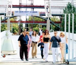 Apertura del Pabellón del Futuro con motivo del X Aniversario de la Expo 92  (Fotografía Rocío Ruiz - ABC).