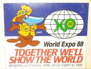 Expo Oz., mascota oficial de Expo'88.