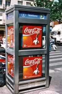Coca Cola patrocinador oficial de Expo'92.