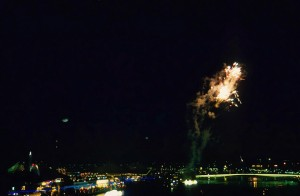 Fuegos artificiales en Brisbane'88