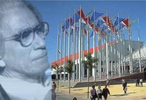 Enrique Hernández arquitecto del Pabellón de Venezuela.