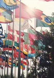 Banderas países participantes.
