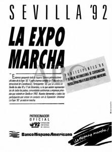 La Expo Marcha - Publicidad en ABC de la reunión de Participantes.