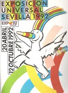Cartel Curro - Expo 92.