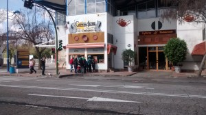 El Bar restaurante El Cartujano fue una de las zonas donde estaban algunas de las pistas.