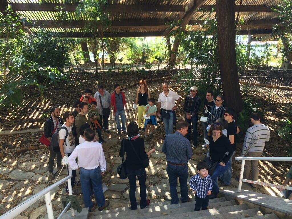Ciudadanos replantan la carteler a del jard n americano for Jardin americano sevilla