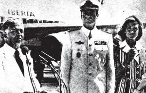 Visita de Juan Carlos I a Santo Domingo (Mayo de 1976) (ABC).