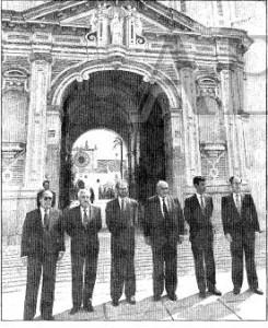Miembros del Consejo de Administración de El Corte Inglés.