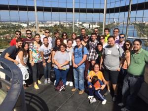 Grupo (12:00) guiado por Sergio David Cansado y Eva Vargas.