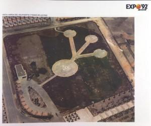Construcción del helipuerto 1988.