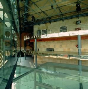 Interior Teatro Central (Fotografías Arquitectos Ayala).