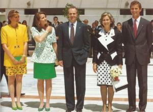 Familia Real en la jornada inaugural.