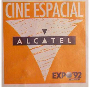La multinacional francesa Alcatel fue la patrocinadora del cine Omnimax.