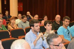 Por su parte Javier Moyano, concejal de Ciudadanos en el Ayuntamiento de Sevilla.