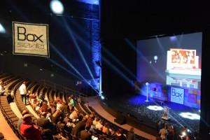 Auditorio Box Sevilla en Pabellón de Canadá.