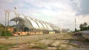 Entorno del Pabellón del Futuro (Abril 2015)