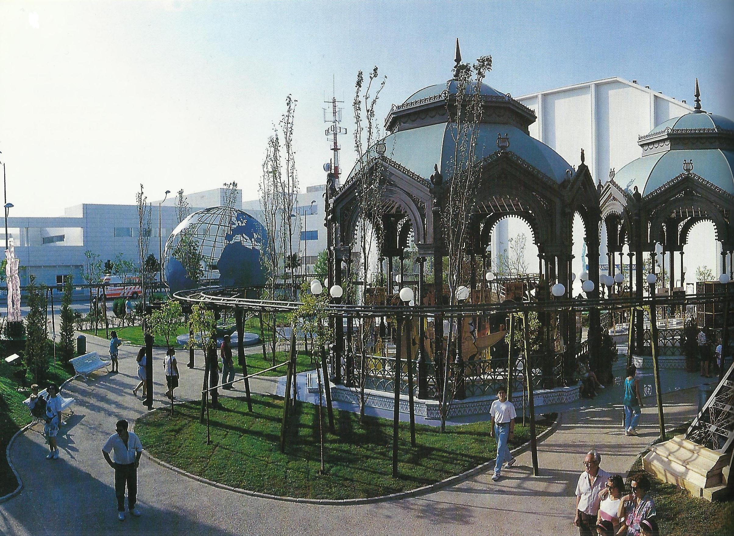 Se celebra el d a de honor de el corte ingl s en expo 92 for Teteras el corte ingles